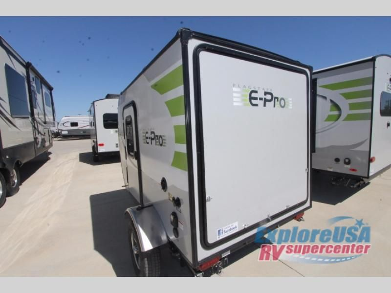 New 2018 Forest River Rv Flagstaff E Pro 12rk Travel Trailer At
