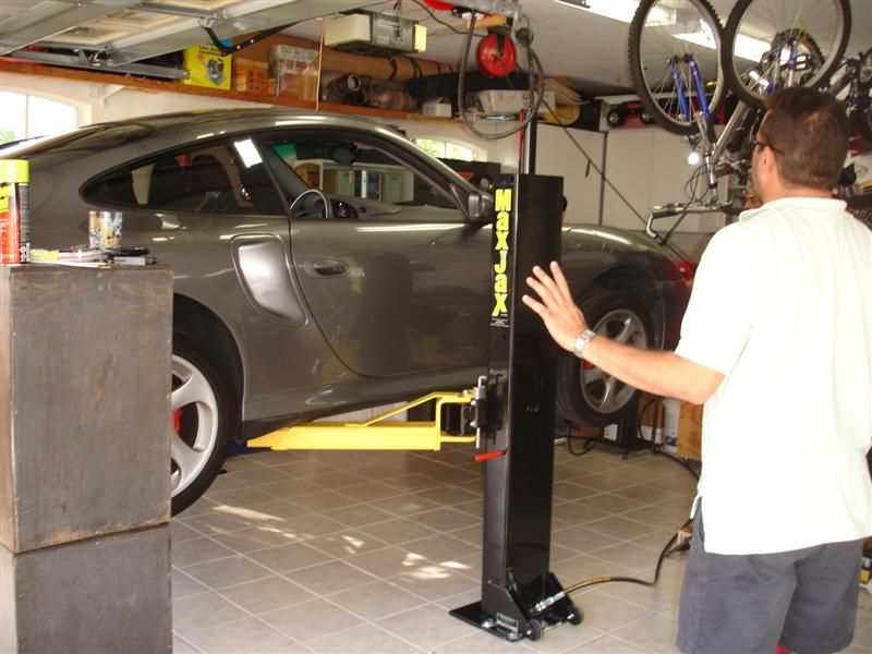 Pin by n k on Garage Car lifts, Two post lift, Lifted cars