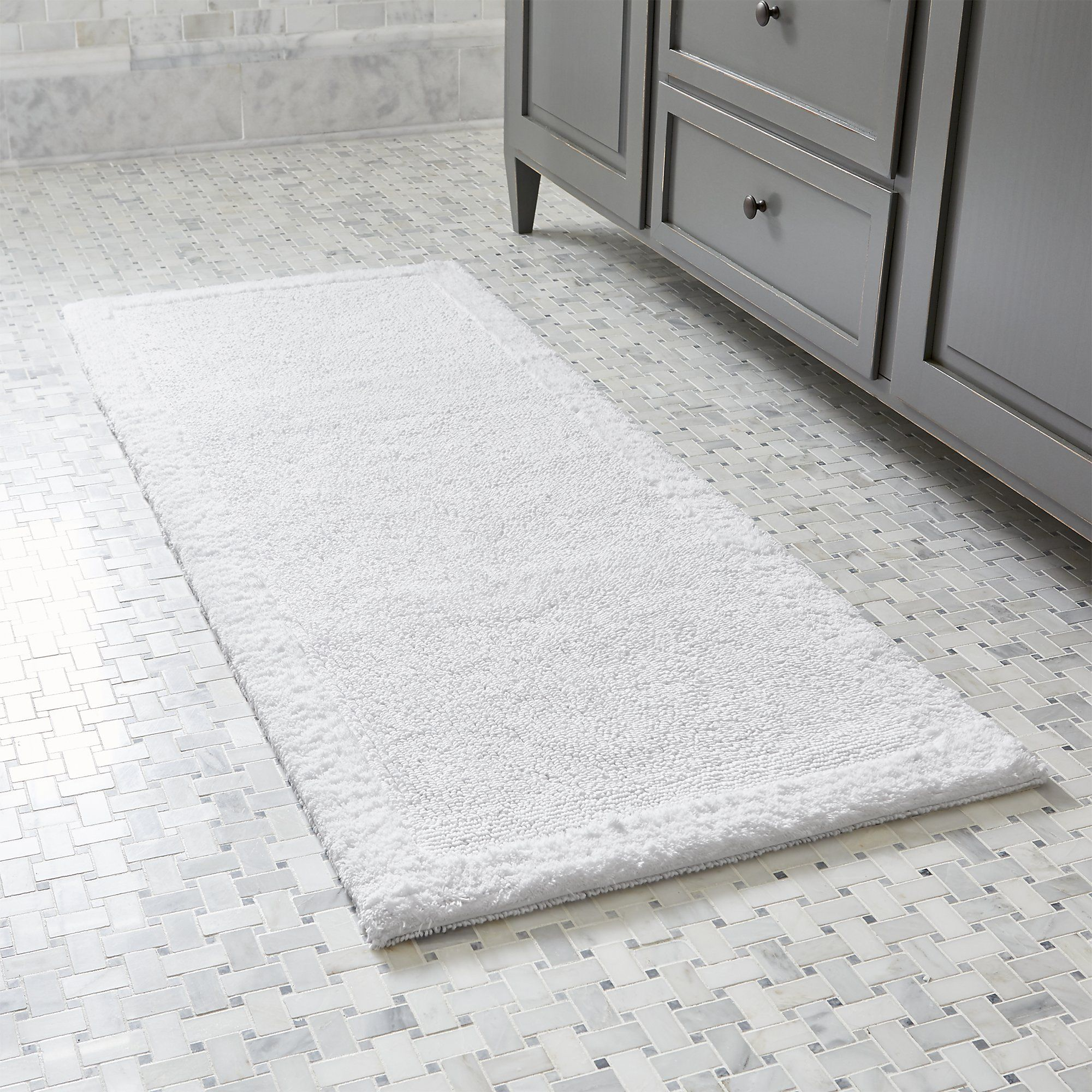 Shop Ultra Spa White 24 X60 Bath Rug Treat Your Feet To The Plush