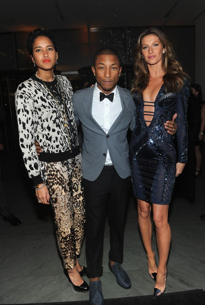 helen-lasichanh Pharell and Gisele | Beautiful People ...