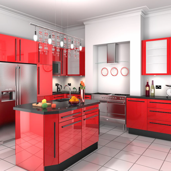 37+ Decoracion de cocinas en rojo y blanco trends