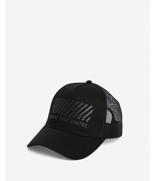 huge discount 2d64f c27b9 Brand That Unites Trucker Hat Men s Black