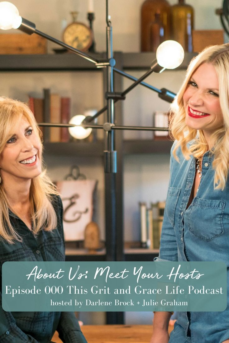 """In our first episode you get to """"meet"""" our hosts and learn about what This Grit and Grace Life will be all about! 