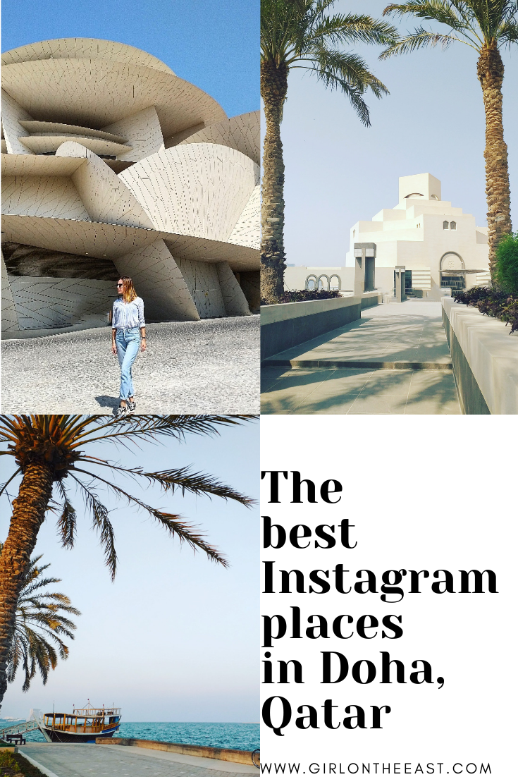 The most instagrammable places in Doha, Qatar Doha