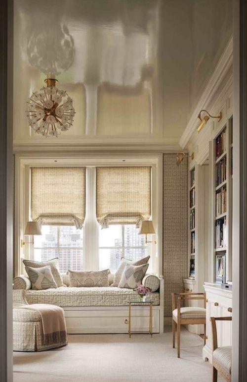 Imagem de home, interior, and window seat