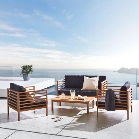 Loungegarnitur Lisa - Gartenmöbel - Produkte Furniture Lounge
