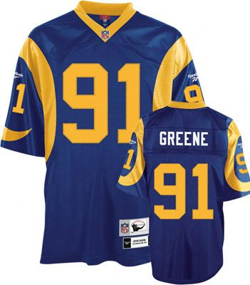 Los Angeles Rams Blue Nfl Premier Throwback Jersey Los Angeles Rams Los Angeles Sports Teams Los Angeles Rams Gear