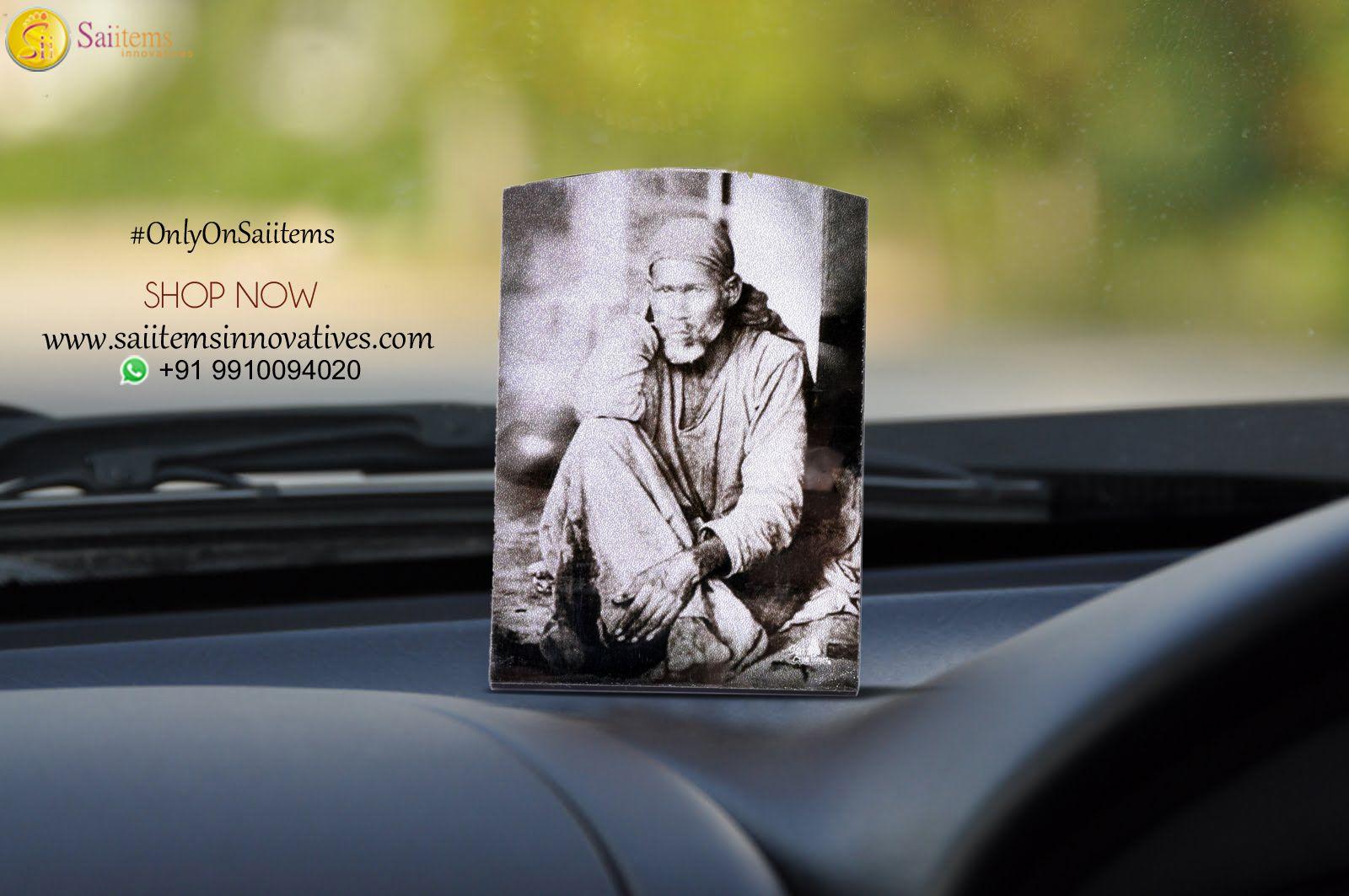 Shirdi Sai Baba Car Dashboard Frame Car Dashboard Frames Sai