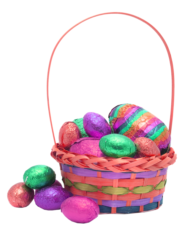 Easter egg basket transparent background image easter transparent easter basket gift ideas for teen guys and girls and what not to give them negle Gallery