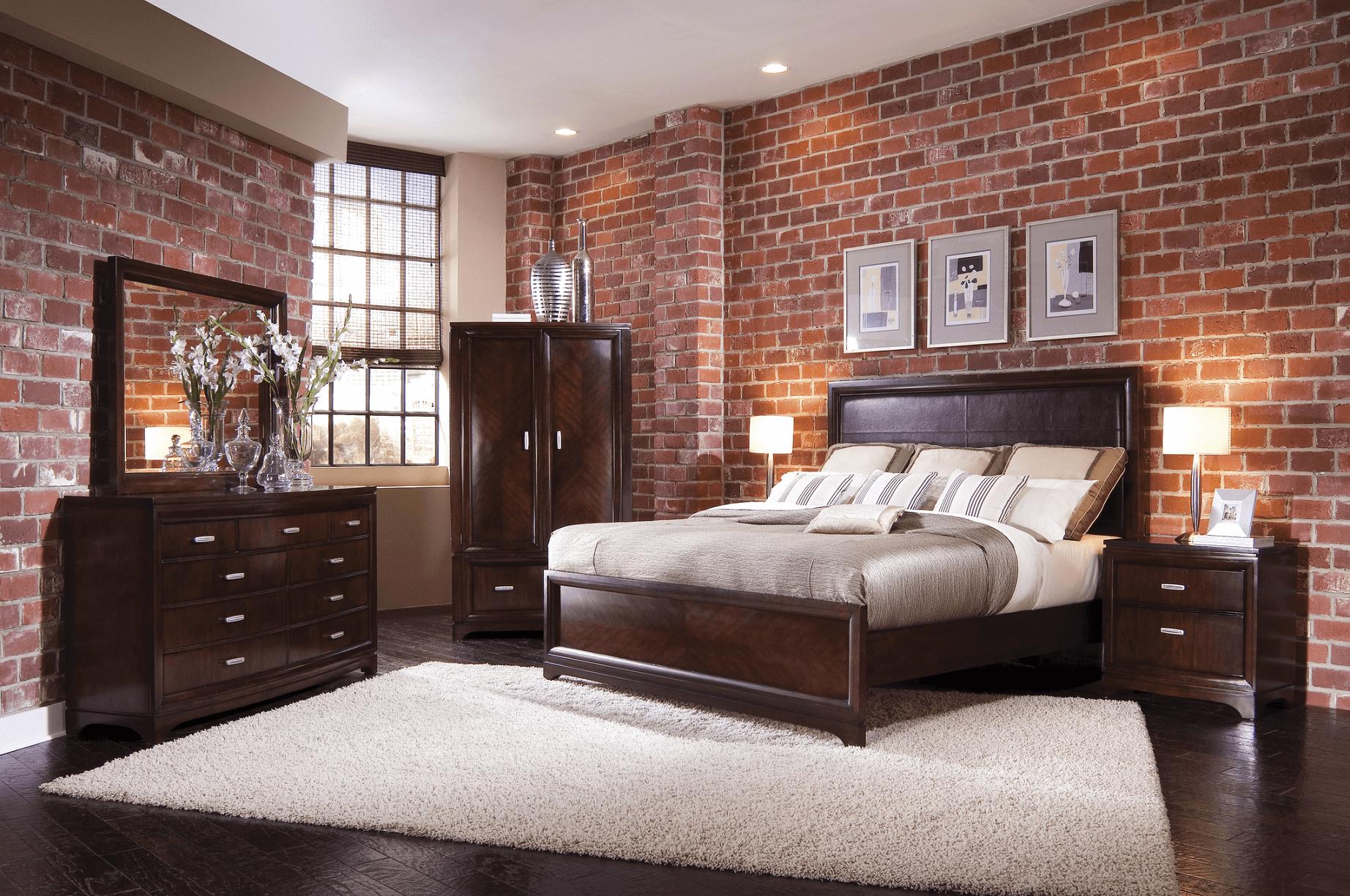 Lampen Für Schlafzimmer Mit Rustikaler Dekoration