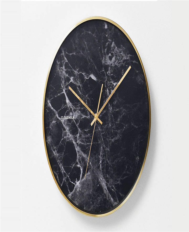 Cloudnola Structure Wood Wall Clock Reviews Clocks Home Decor Macy S Wall Clock Marble Wall Wall Clock Design
