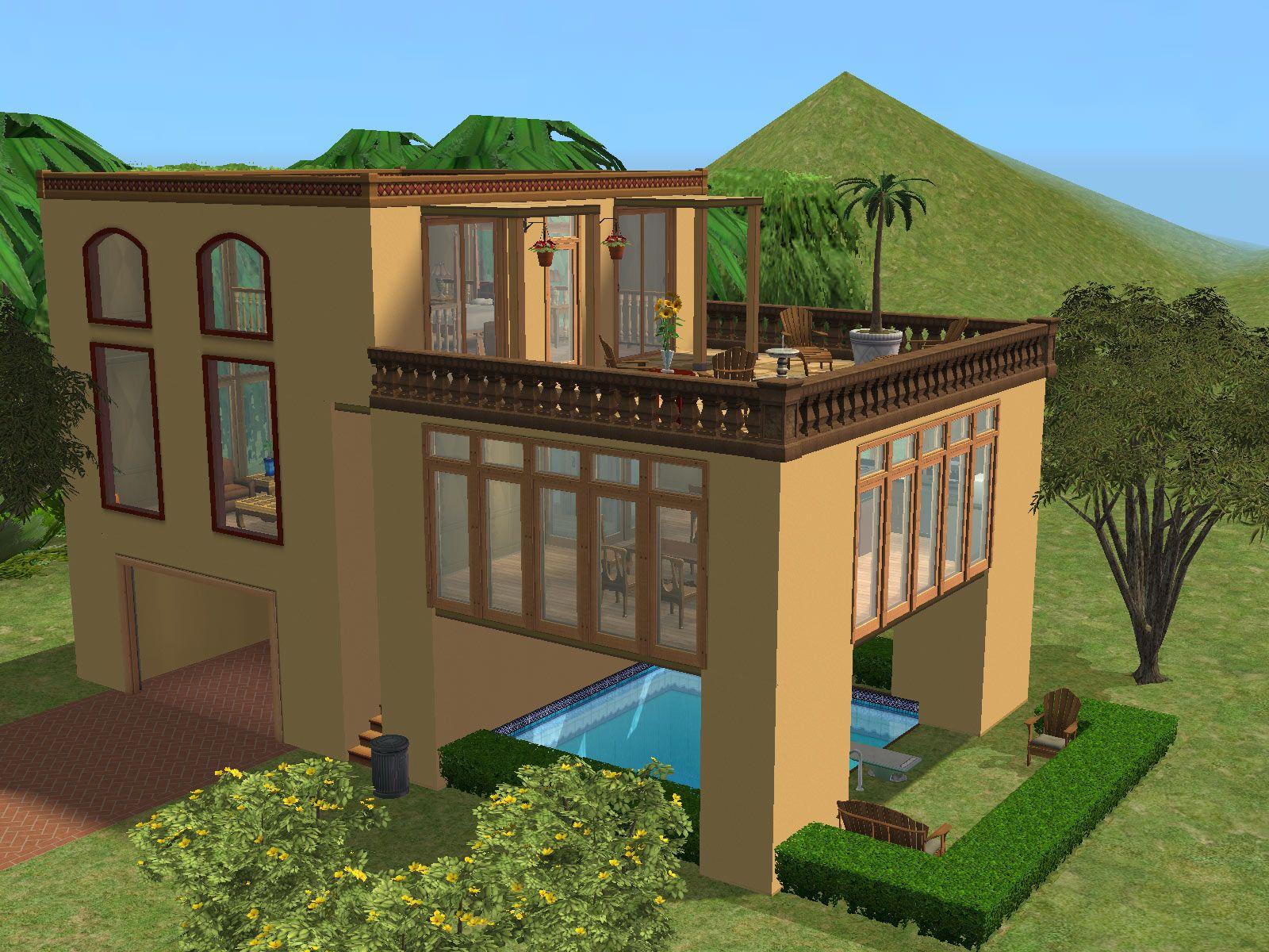 parsimonious the sims 2 houses sims houses sims house house rh pinterest com