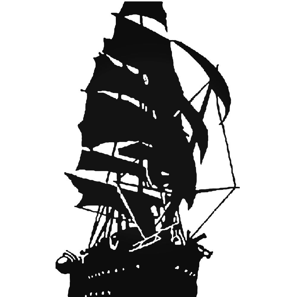 Pirate Ship 900 Decal СиРуети