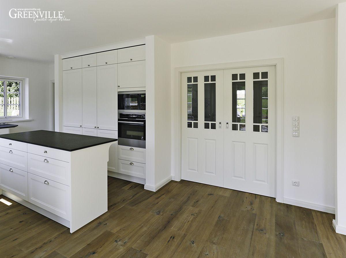 Offene weisse Küche Küche esszimmer, Küche, Esszimmer