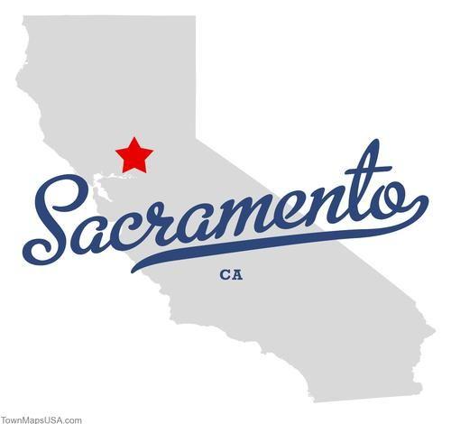 Map Of Sacramento California Ca Pintowin Napoleonperdis Npset