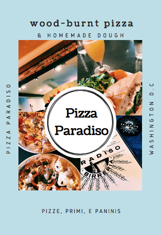Pizza Paradiso For Lunch Yesterday Great Logo Macellaio