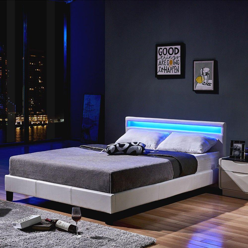 39 Inspirant Bett 140x200 Mit Led Galerie In 2020 Home Decor Bed Trending Decor