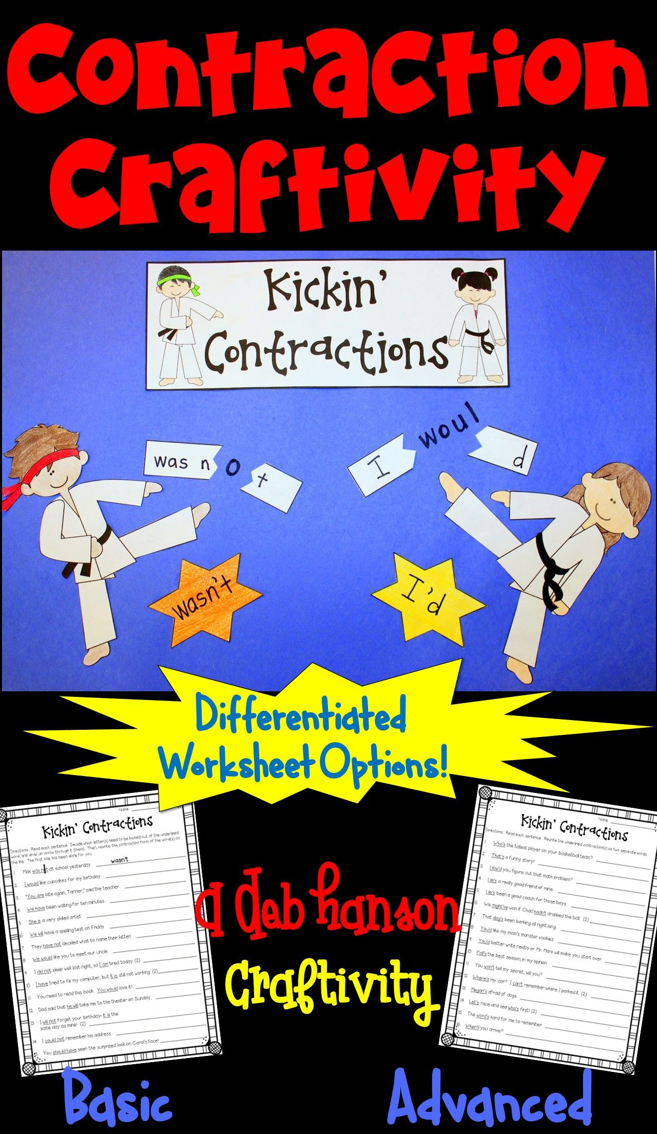 Contractions Not Just For Early Elementary Two Free