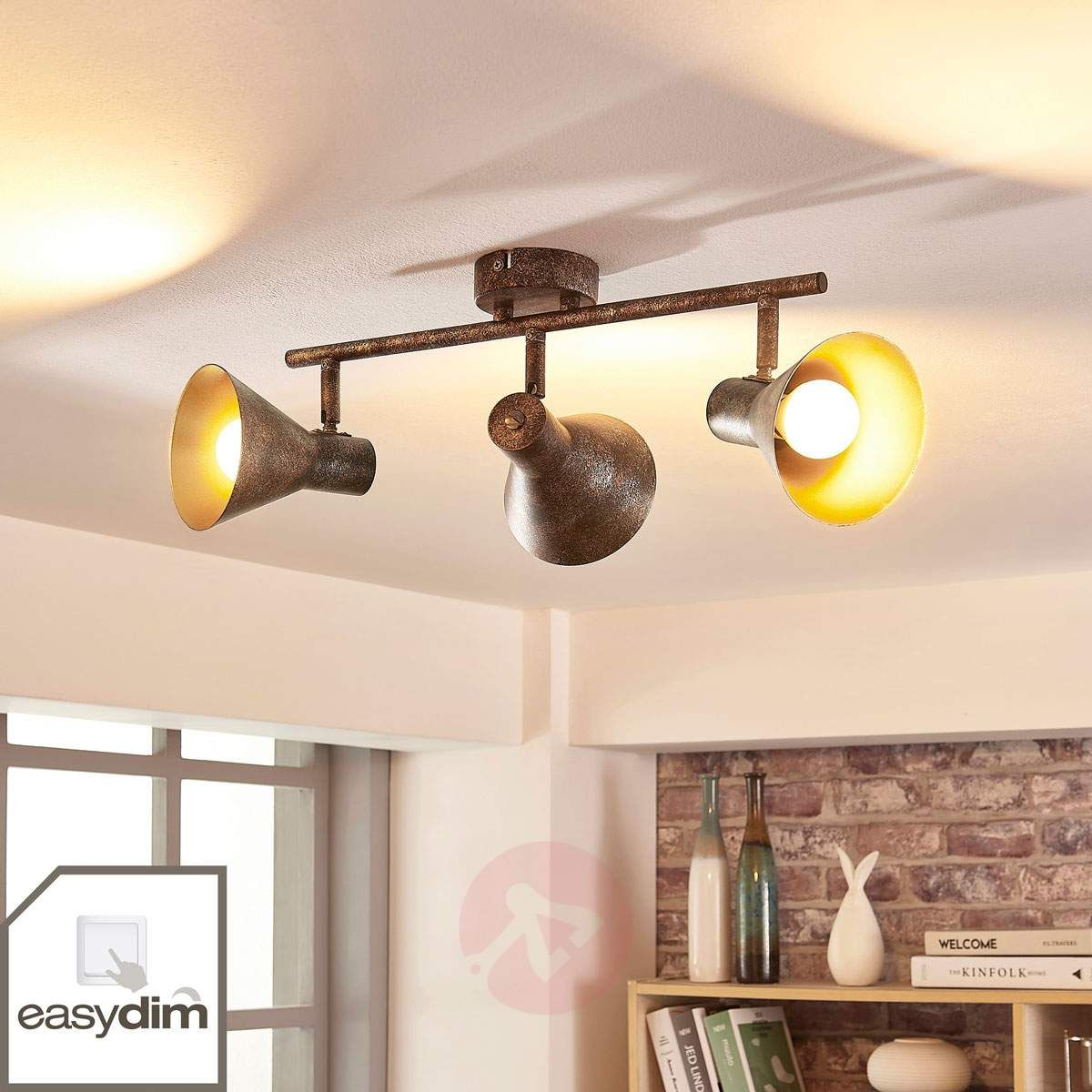 Zera Podłużna Lampa Sufitowa Led Easydim Lampy Sufitowe