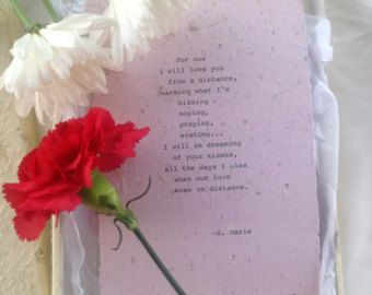 Ldr long distance poetry gift long distance relationship love