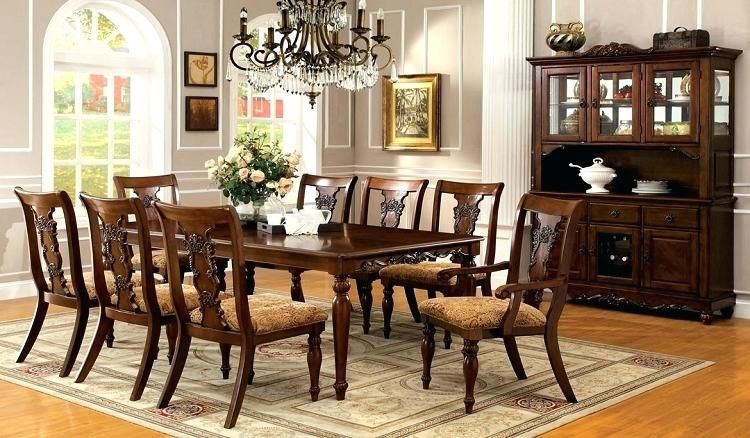 Solid Wood Formal Dining Room Sets Formal Dining Tables