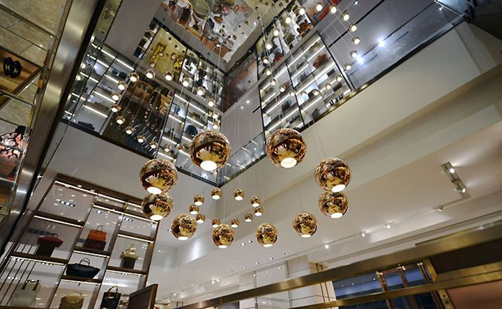 L'Aurora multi brand boutique by Stefano Tordiglione Design, Guangzhou luxury