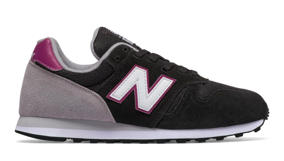 new balance 373 black and purple