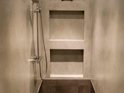 wandafwerking badkamer zonder tegels - Google zoeken - bathroom ...