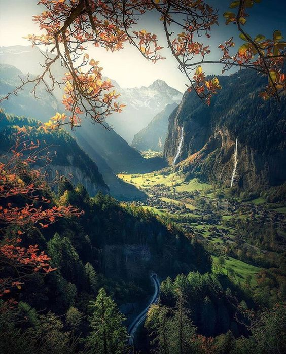 Lauterbrunnen, Switzerland  #scenery