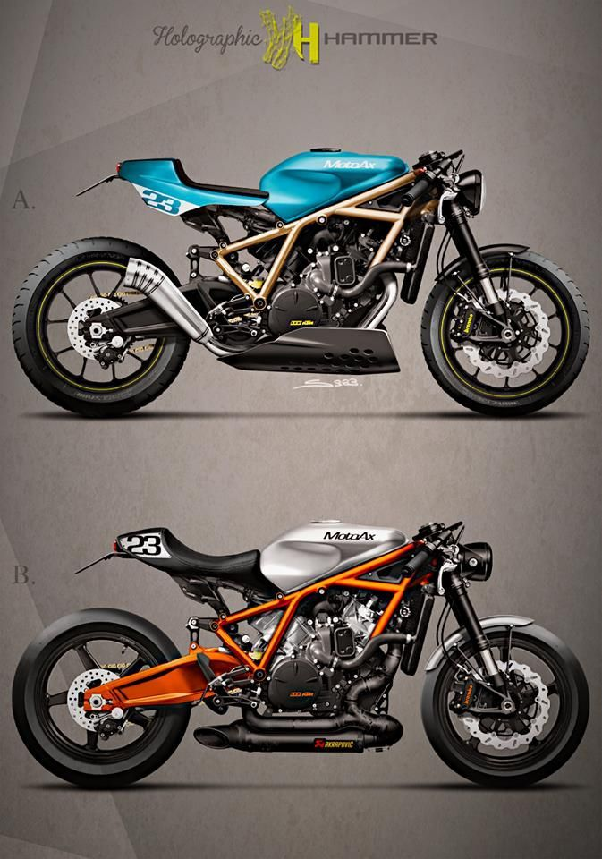 KTM 1190 RC8 by Holographic Hammer