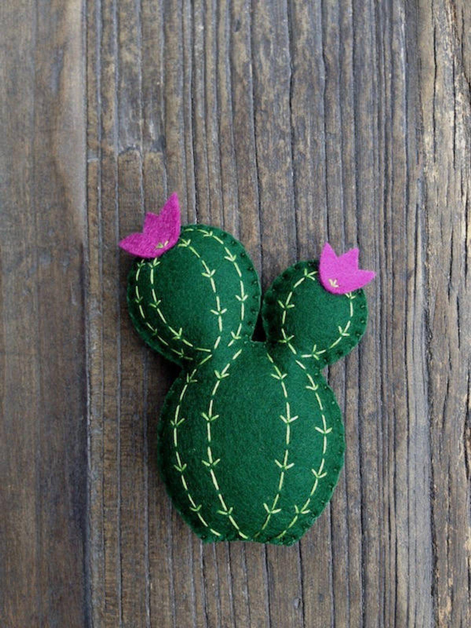 Photo of Mixed Cactus Set Felt Cactus Cactus Decor Cactus Nursery | Etsy #cactusdecor