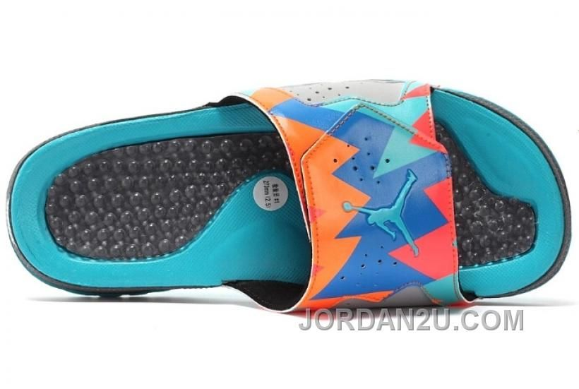 d6402239e8414c Air Jordan 7 VII Hydro Slides Sandals Barcelona Day Free Shipping No ...