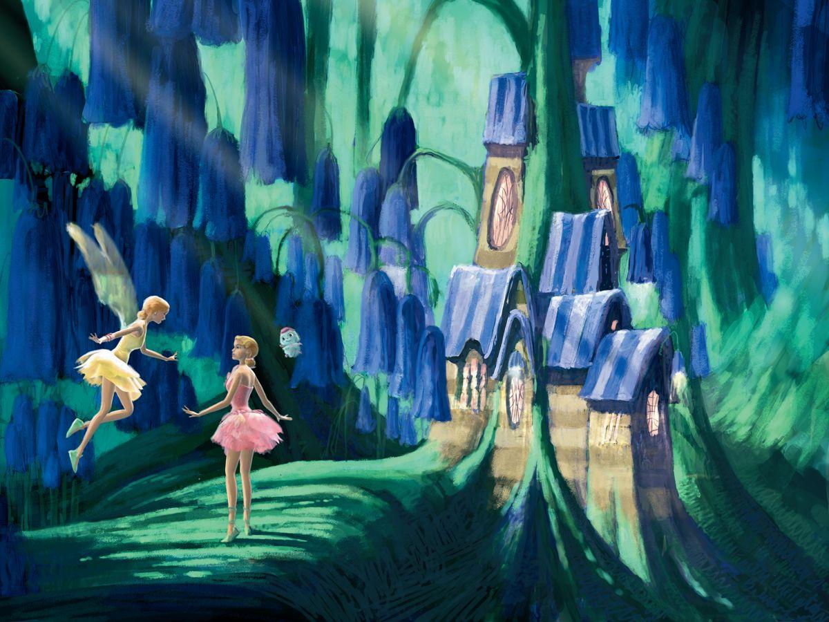 Fairytopia Places Concept Art By Walter Martishus Filmes Da