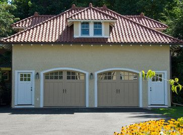 Beautiful Exteriors By Trc Traditional Garage And Shed Boston By The Remodelin Detached Garage Designs Modern Garage Doors