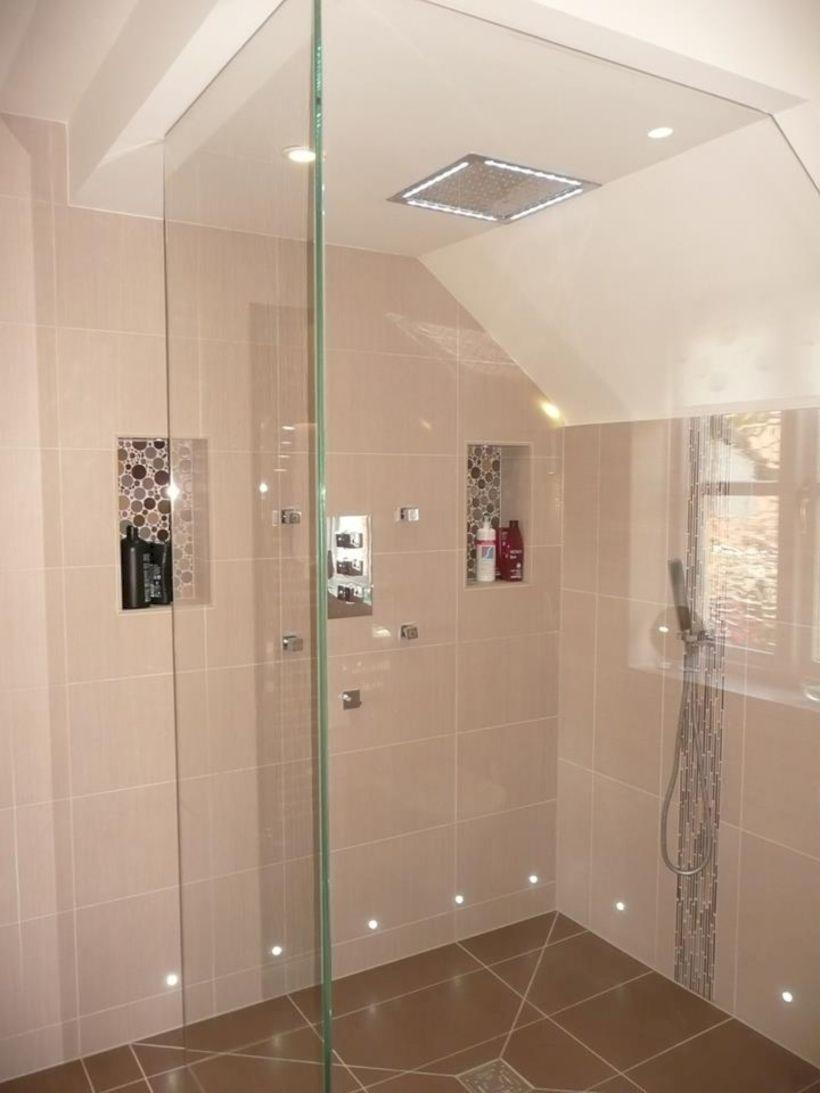 50 Beautiful Bathroom Frameless Shower Glass Enclosure | Frameless ...