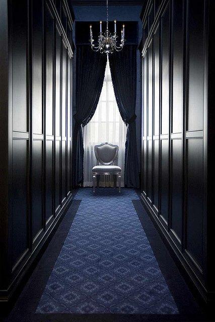 Masculine #closet #decor #vestidor de diseño de inspiración masculina