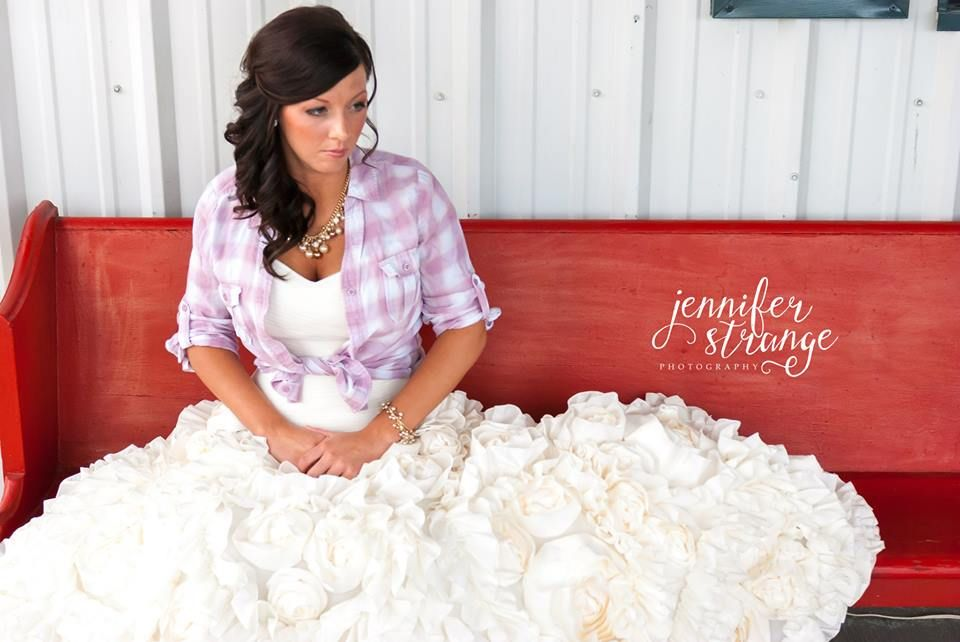 Spring Wedding in North Carolina, Rustic Barn, Wedding, Burlap, Bridal Session, Vintage, Flannel Shirt, Copyright Jennifer Strange Photography
