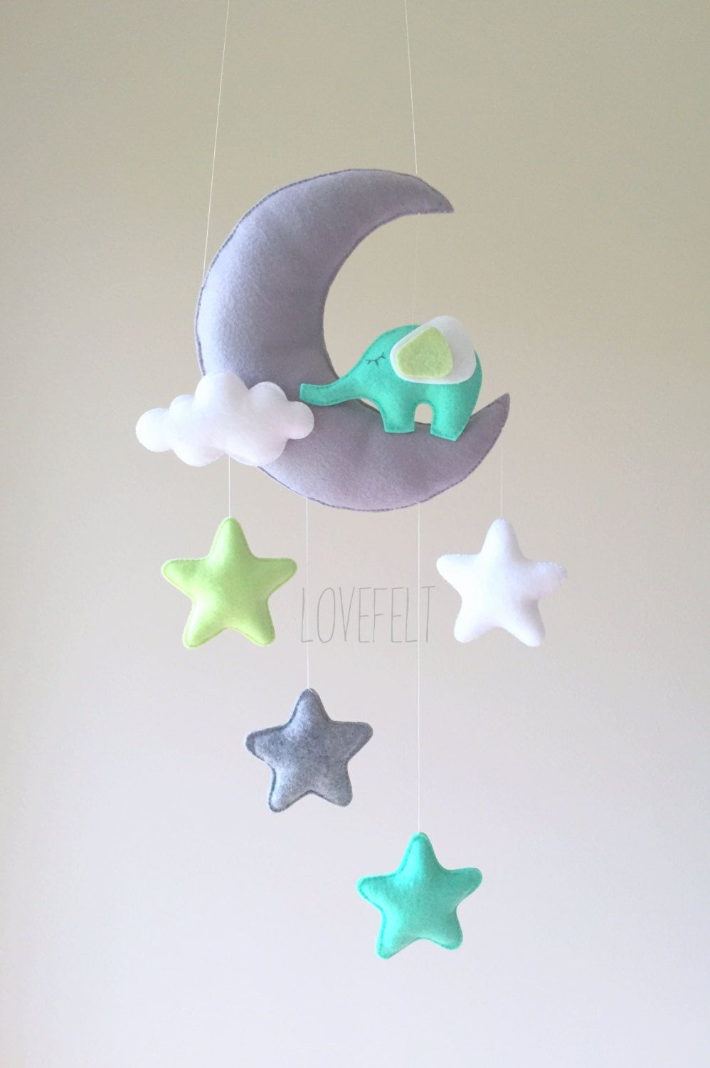 Froggies nursery wall decals by couture d 233 co - Baby Mobile Mobile Moon Elephant Mobile Crib Mobile Elephant Baby Mobile Stars
