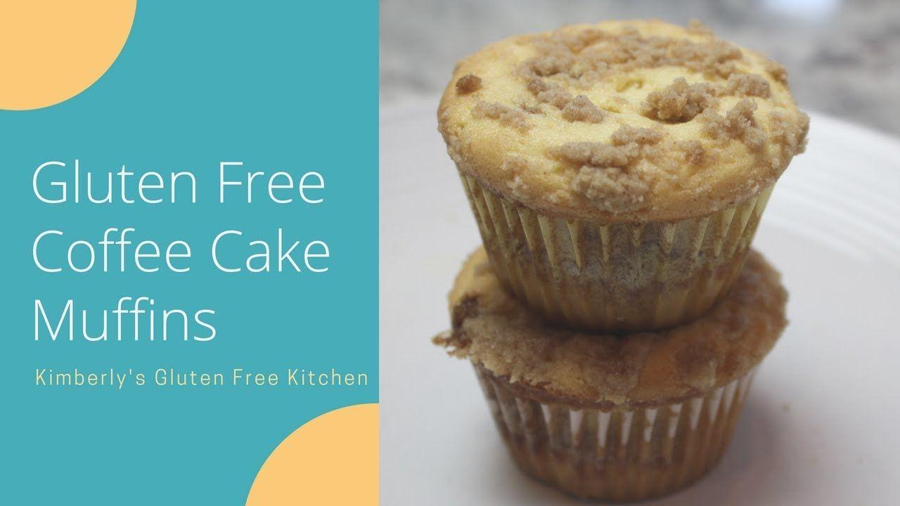 Gluten free coffee cake muffins glutenfree vegan