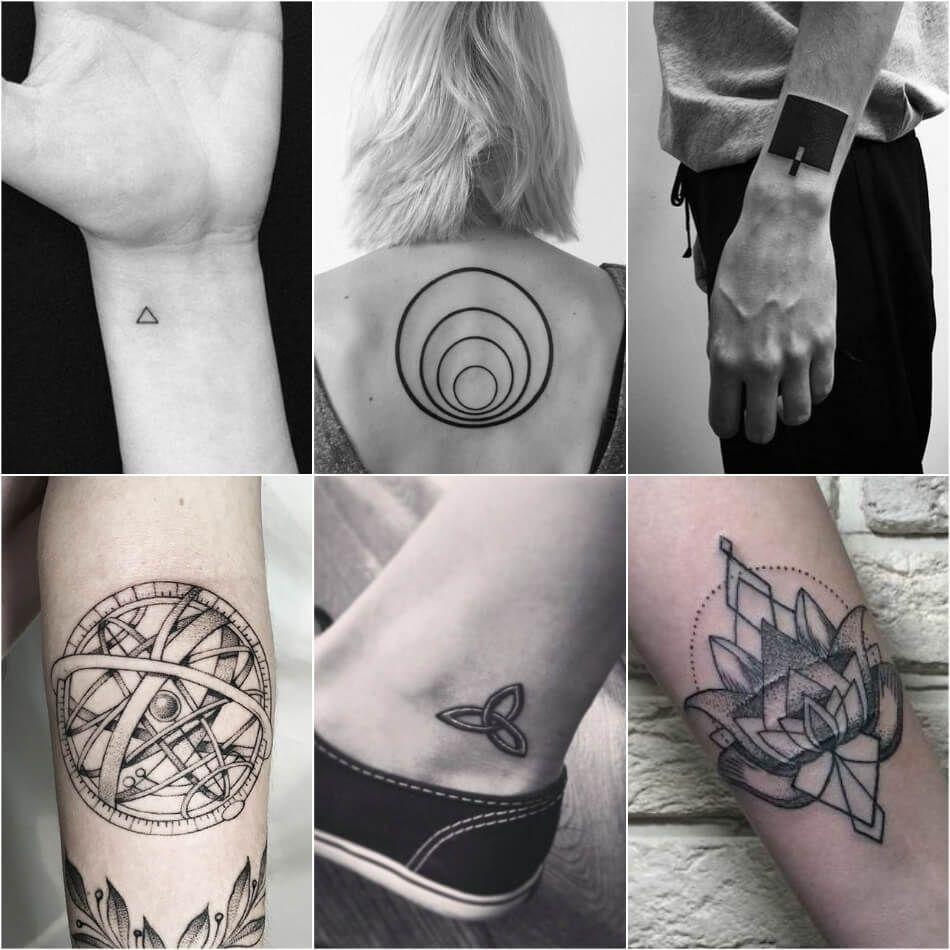 Geometric Tattoos Tattoo Designs With Deeper Hidden Meanings Geometric Tattoo Geometric Tattoo Meaning Small Geometric Tattoo