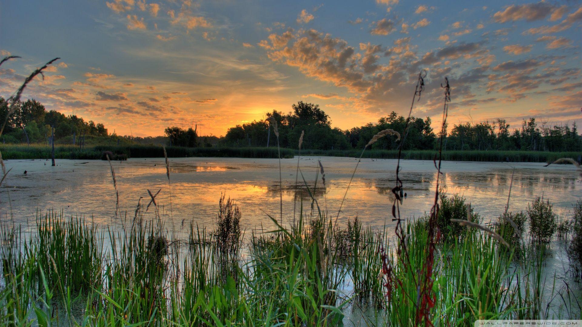 Sunrise Over Lake Michigan by Elvis Kennedy Desktop