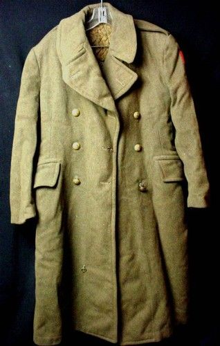 91dc0fa4c8e Found one of these authentic WWII Canadian Army Great Coats while ...