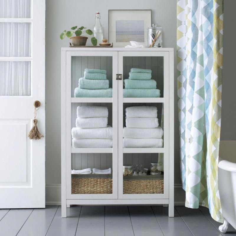 Ribbed Grey Bath Towel Bathroom Towel Storage Small Bathroom
