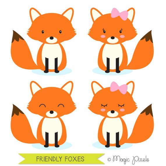 fox clip art woodland animals clipart forest animals clip art rh pinterest co uk free christmas clipart for commercial use free public domain clipart for commercial use