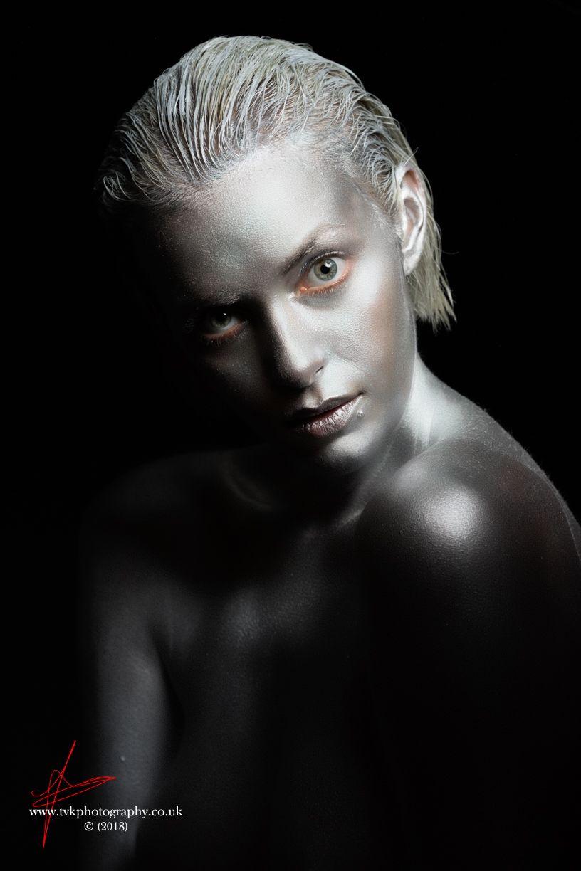 Silver Body Art Body Art Body Body Painting