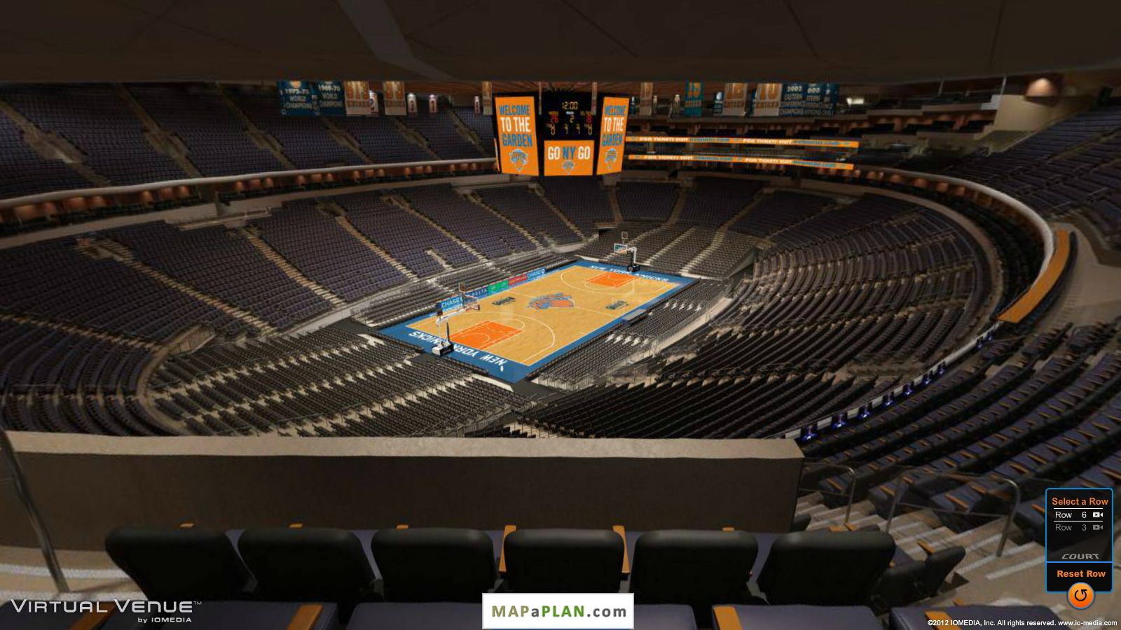Pictures Of The New Madison Square Garden Madison Square Garden Seating Chart Section 420