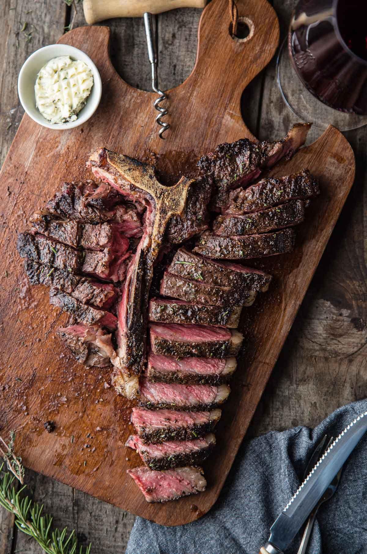 Grilled tbone steak recipe in 2020 cooking t bone