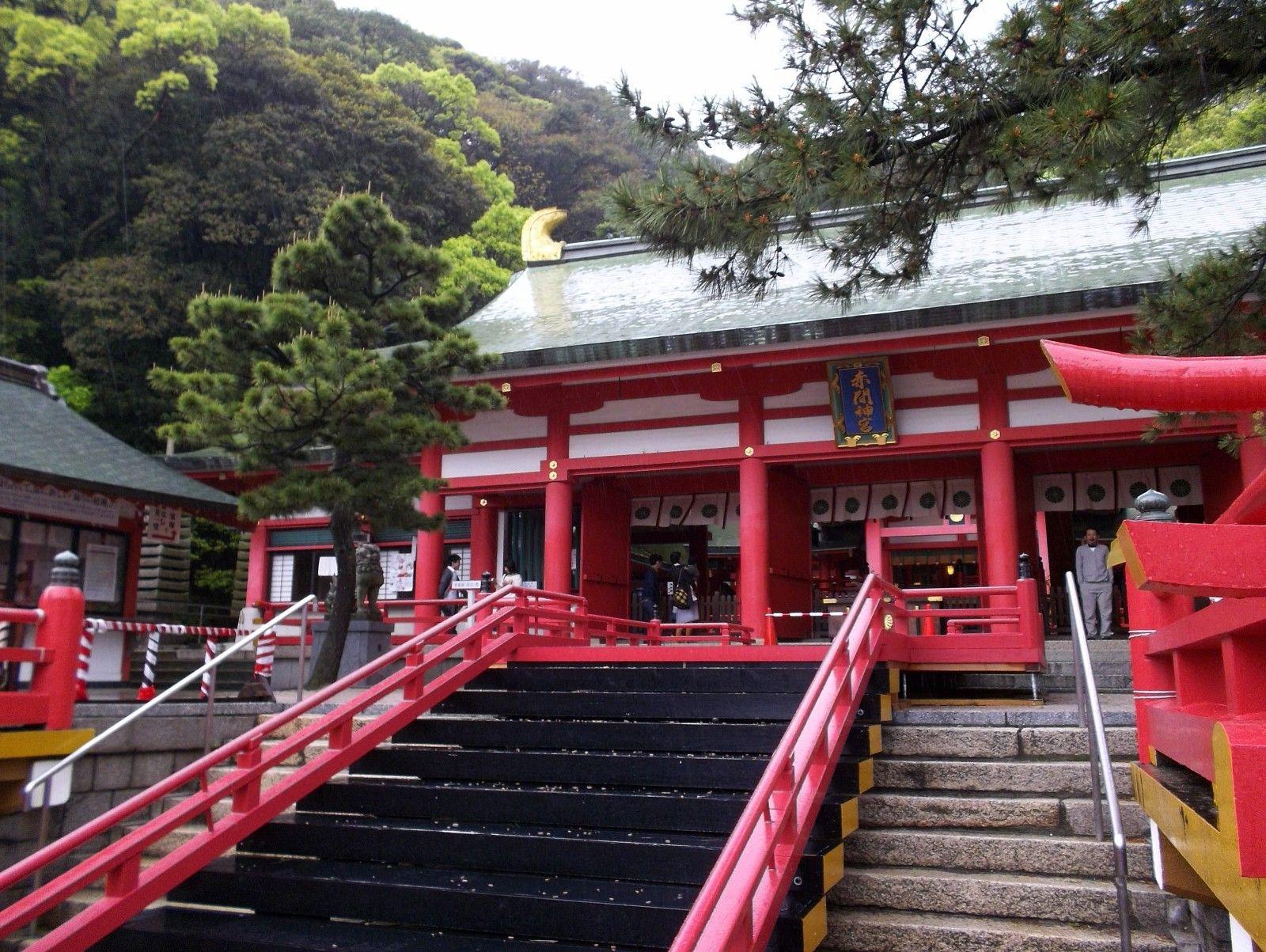 Akama Jingu Shimonoseki City Yamaguchi Pref Where I D Like To