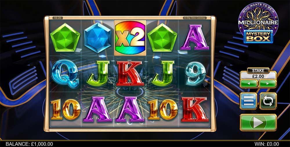 Who Wants to Be a Millionaire: Mystery Box Slot Machine