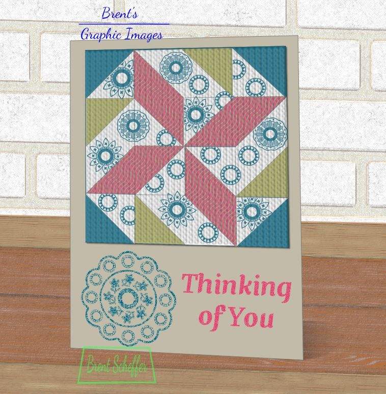 CC616 Guest Designer Sample - Brent\u0027s card Tuesday Color Challenge - Sample Cards